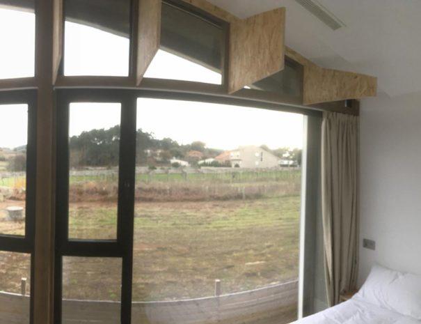 vistas dormitorio casa vacacional chalana