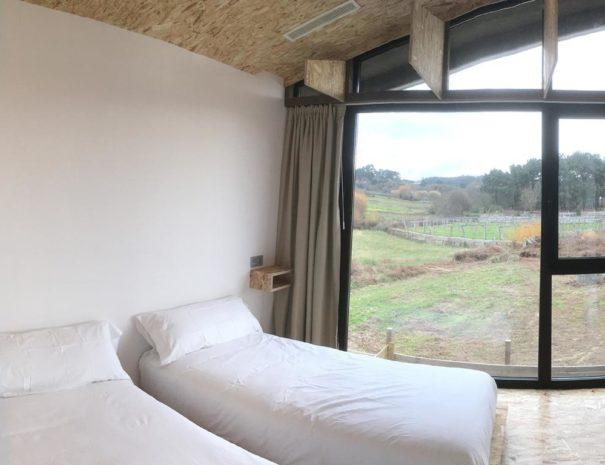 vistas dormitorio apartamento dorna mardesia