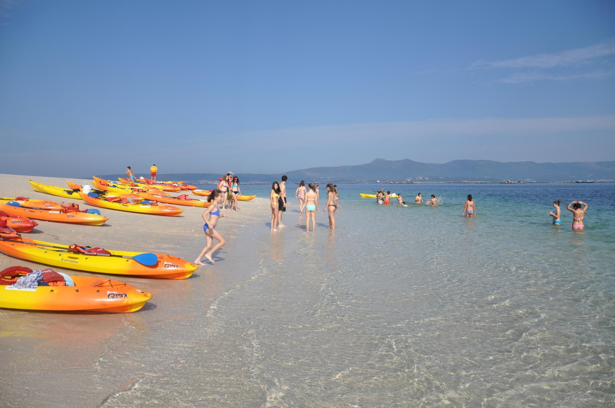 kayak san vicente do mar