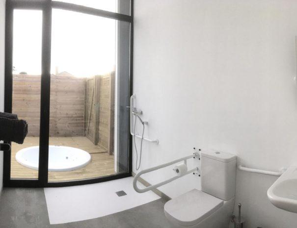 baño mardesía casa vacacional